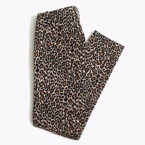 NWT J. Crew Factory Leopard Winnie Pant sz 14 ✨